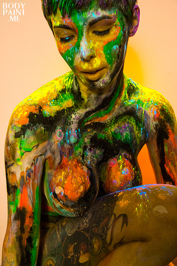 Bodypaint Experiments
