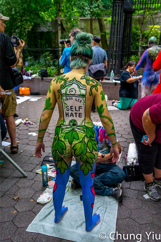 NYC Bodypainting Day 2016