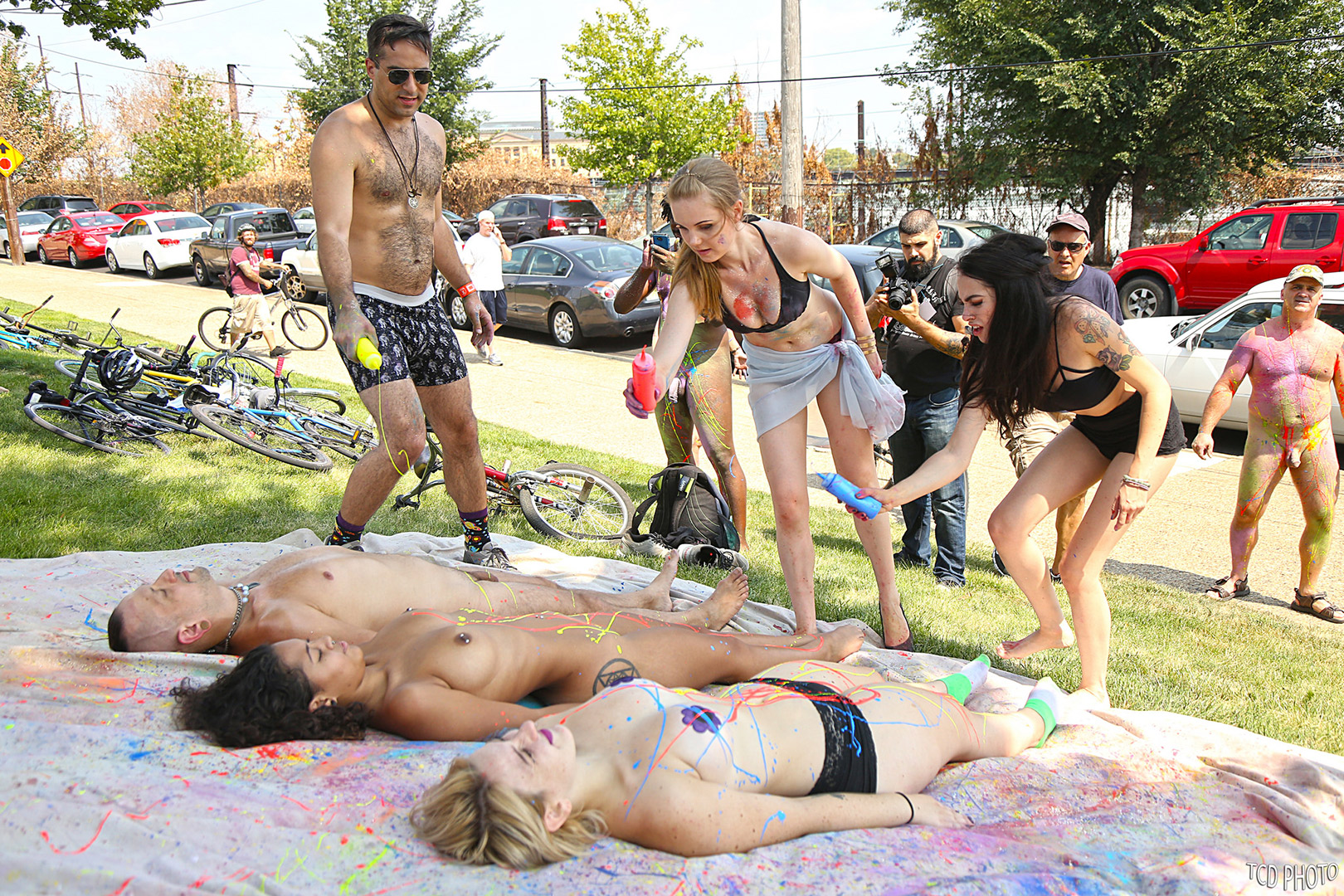 Philly Naked Bike Ride 2015