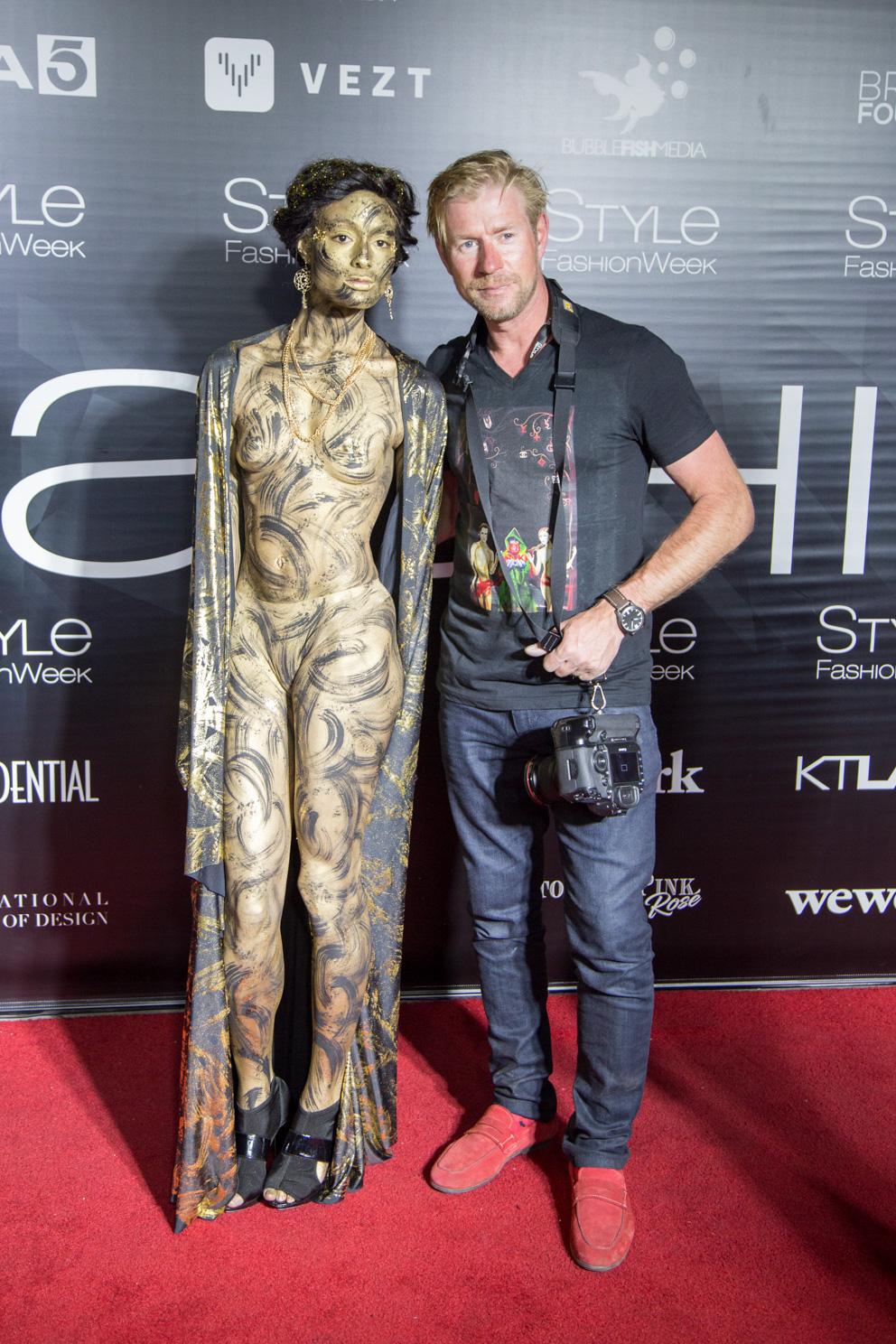 Style Fashion Week Bodypaint