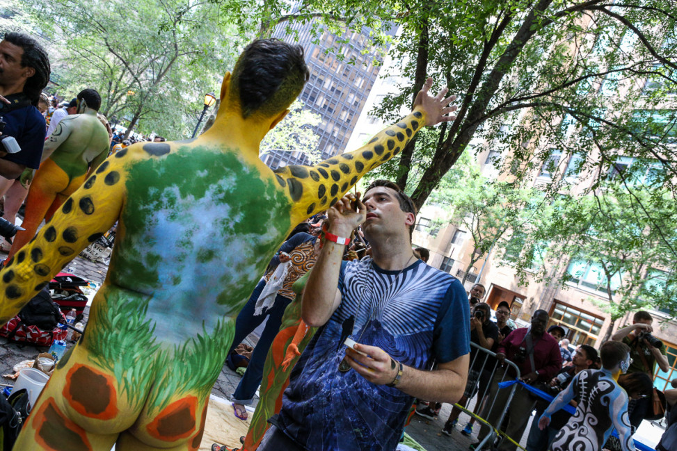 Nyc Bodypainting Day 2015 - Bodypaintme-1236